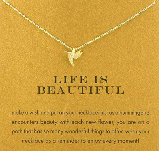 Fashion Hummingbird Necklace
